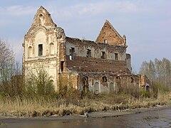 Chodel, Loret ruiny kościoła jezuitów (2).jpg