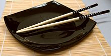 Chopsticks on a dish.jpg