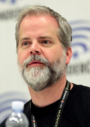 Chris Roberson (author) - Roberson at WonderCon 2017