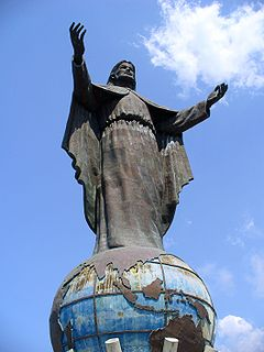 <i>Cristo Rei of Dili</i> Large statue of Christ in Cristo Rei subdistrict, Dili, East Timor