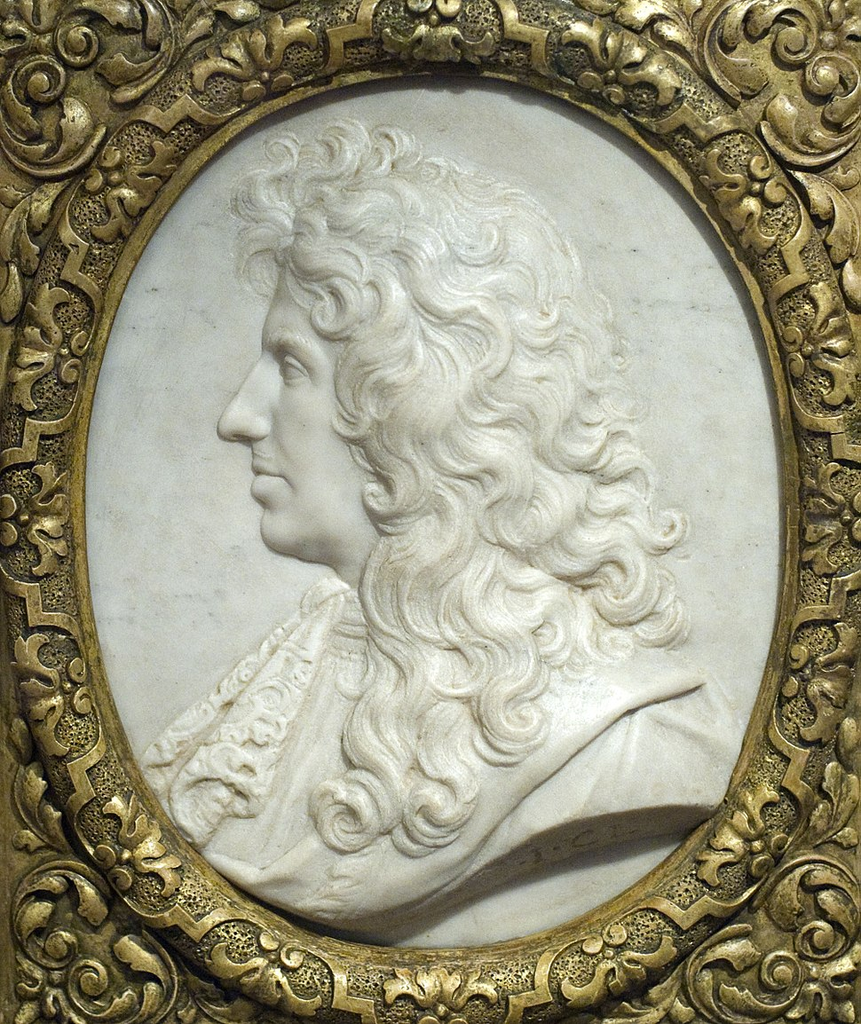 Christiaan Huygens by Jaques Clerion