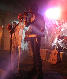 Christian Death performing live in 2010. Left to right: Maitri, Valor Kand