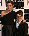 Christian Siriano and Anna Schilling, My Habit launch (cropped).jpg