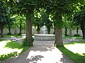 Christiansfeld - brønden ved Brødremenighedens Kirke.JPG