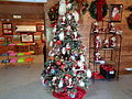 Christmas tree in Santa Claus Welcome Center 2.JPG