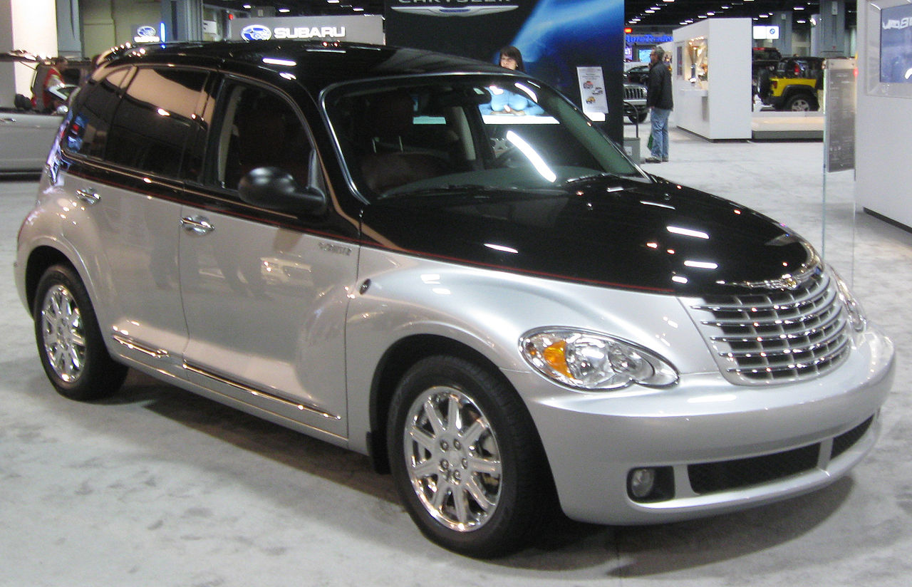 Pt Cruiser Show The Car On The Dashboard