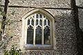 Church of St Mary Hatfield Broad Oak Essex England - south porch west window.jpg