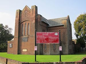 Dovecot, Liverpool - Image: Church of the Holy Spirit, Dovecot, Liverpool L14 (4)
