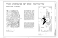 Church of the Nativity, 210 Oak Grove Avenue, Menlo Park, San Mateo County, CA HABS CAL,41-MENPA,2- (sheet 1 of 4).png