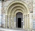 Churchdoor in Le Mas-d'Agenais (département de Lot-et-Garonne, France) - panoramio.jpg