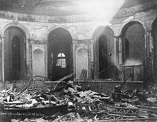 Cincinnati Riots 1884 Courthouse after riot.jpg