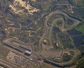 Circuit Zandvoort - Aerial photo of the circuit in 2016
