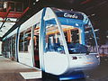 Citadis ALSTOM Mock up scale J Neerman.JPG