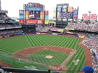 Sports in New York City - Citi Field, home of the New York Mets in Queens