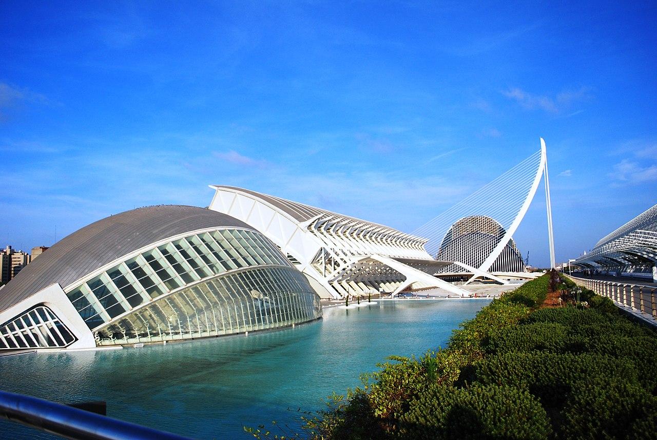 File Ciudad De Las Artes Y Las Ciencias Valencia Jpg Wikimedia Commons
