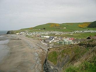 Clarach Bay - Image: Clarach Bay