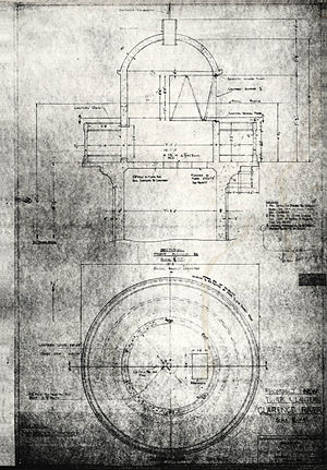 Clarence River Light - Plans for the new tower, 1951