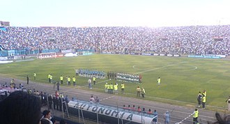 Club Blooming - Picture of the derby vs Oriente Petrolero.