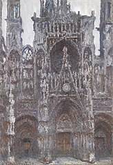 Rouen Cathedral, Portal, Front View