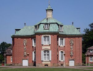 Clemens August of Bavaria - Clemenswerth Palace near Sögel built as a hunting lodge for Clemens August