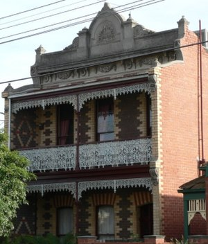 St Kilda East, Victoria - Image: Clement house