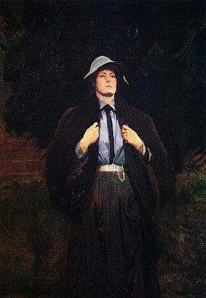John Anstruther-Thomson - John Singer Sargent (1856–1925). Clementina Anstruther-Thomson, 1889