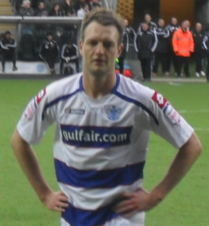 Clint Hill (footballer) - Hill playing for Queens Park Rangers in 2011