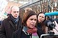 Cllr Darren O'Rourke, Mary Lou McDonald TD, Louise O'Reilly TD (49491816383).jpg