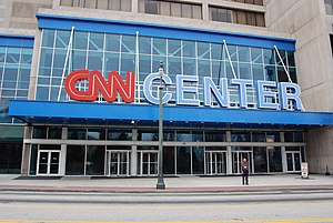 CNN International - The CNN Center in Atlanta.