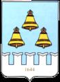 Coat of Arms of Dalmatovo (2004).png