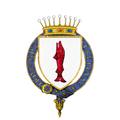 Coat of arms of John Gaspar Ferdinand de Marchin, Comte de Granville, KG.png