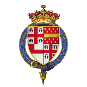 Henry Bourchier, 2nd Earl of Essex - Arms of Sir Henry Bourchier, 2nd Earl of Essex, KG