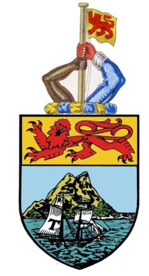 Coat of arms of Sabah - Image: Coat of arms of the Crown Colony of North Borneo