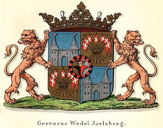 Jarlsberg - Coat of arms of the counts of Wedel Jarlsberg.