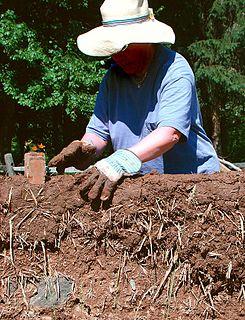 Cob (material) Building material made of soil and fiber