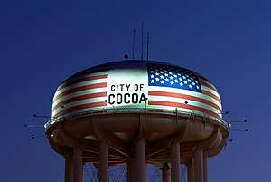 Cocoa, Florida - Water tower