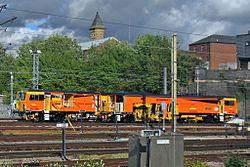 "Colas Rail tamping machine, DR73906 ""Panther"", Preston (geograph 4500082).jpg"