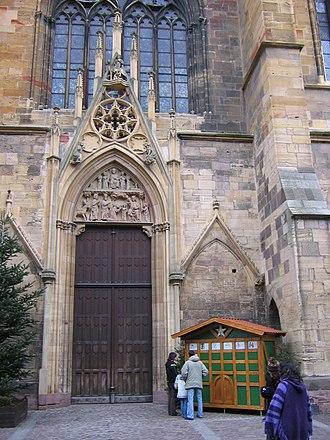 St Martin's Church, Colmar - Image: Colmar 9016