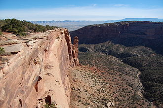Colorado National Monument - A view from the Canyon Rim Trail