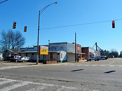 Columbia, Alabama in 2012