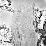Columbia Glacier, Valley Glacier and Distributary, June 4, 1988 (GLACIERS 1427).jpg
