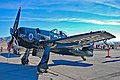 Commemorative Air Force Grumman F8F-2 Bearcat (G-58) N7825C - 122674-S-201 (cn D.1227) (21866840082).jpg