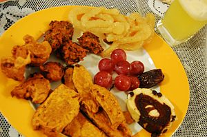 Iftar - Common iftar items of Bangladesh