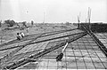 Concrete Roofing In Progress - Science City Site Office - Dhapa - Calcutta 1993-October 701.JPG