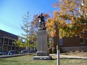 Confederate Memorial in Nicholasville - Image: Confederate Memorial in Nicholasville
