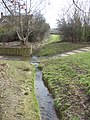 Confluence of stream and bridle crossing at rear of Quilter Meadow - geograph.org.uk - 1734225.jpg