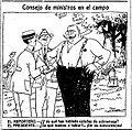 Consejo de ministros en el campo, de Tovar, La Voz, 10 de mayo de 1921.jpg
