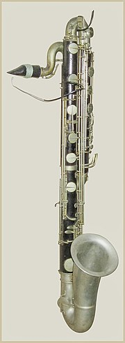 E Flat Clarinet Range Map of Contrabass clar...