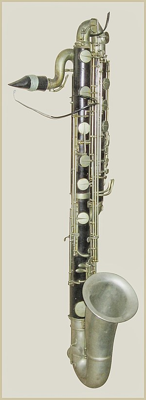 Contrabass clarinet - Besson contrabass clarinet, post-1890