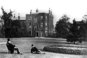 Coombe, Croydon - Baron Heath at Coombe Hill House